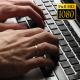 Businessman Works Behind Laptop 2 - VideoHive Item for Sale