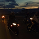 Motorcyclist at Night 1 - VideoHive Item for Sale
