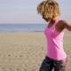 Happy Woman Dancing At Beach - VideoHive Item for Sale