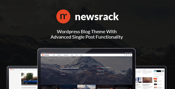 Newsrack – Responsive WordPress Blog Theme With Infinitive Load