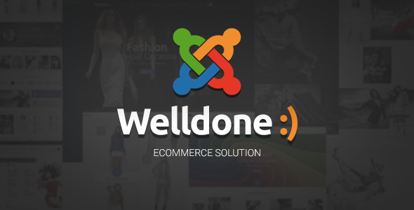 Image of Welldone - Joomla VirtueMart ecommerce theme