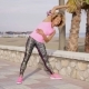 Trendy Young Woman Doing Aerobics Exercises - VideoHive Item for Sale