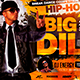 Hip-Hop Artist Flyer Horizontal - GraphicRiver Item for Sale