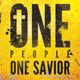 One People One Savior Church Flyer and CD Template - GraphicRiver Item for Sale