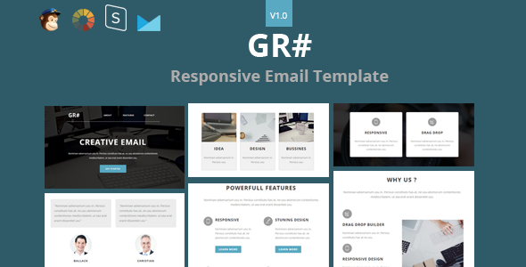 Grow - Responsive Email + StampReady Builder - Newsletters Email Templates