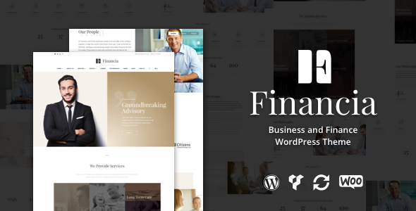 Financia – Business and Finance WordPress Theme