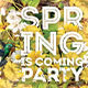 Spring is Coming Party - GraphicRiver Item for Sale