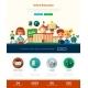 Scool, Education Website Header Banner - GraphicRiver Item for Sale