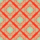 Abstract Seamless Vintage Oriental Tiled Design  - GraphicRiver Item for Sale