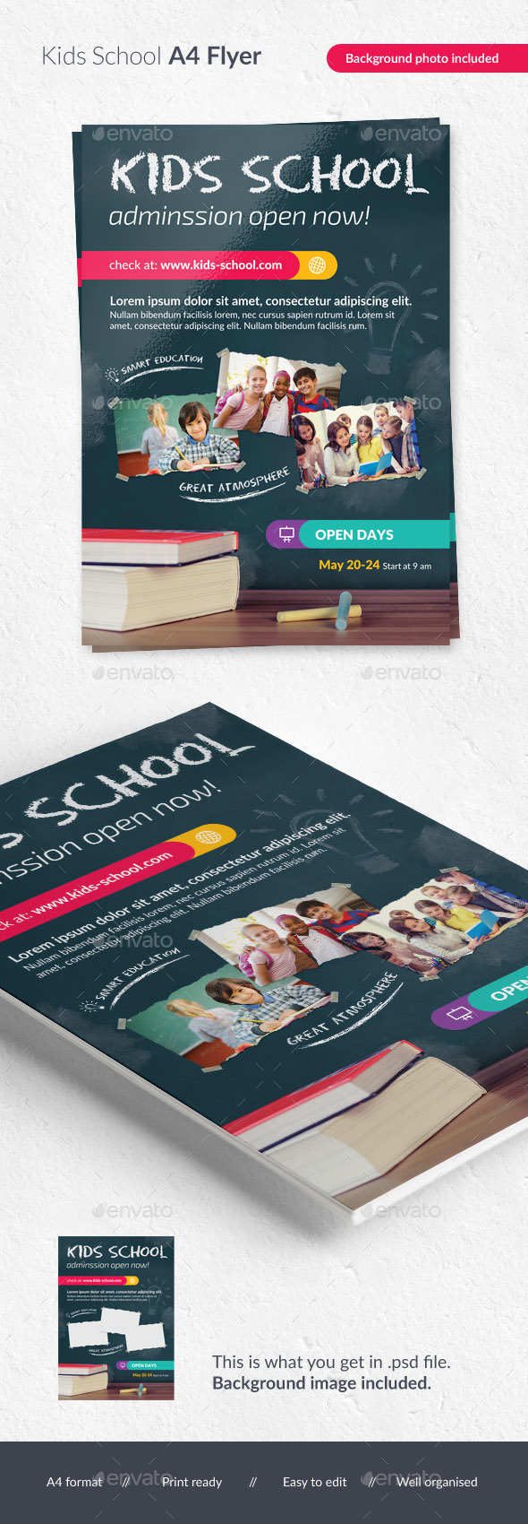 Kids School Flyer - Corporate Flyers