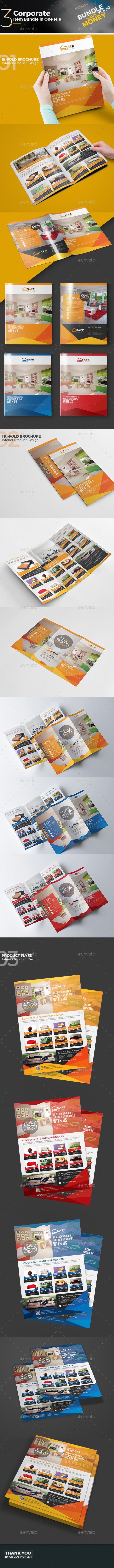 Product Branding Bundle - Corporate Brochures