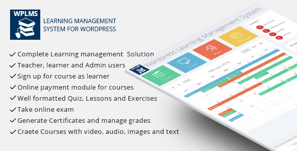 WPLMS - Learning Management System for Wordpress - CodeCanyon Item for Sale