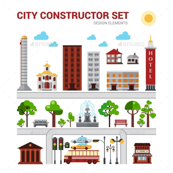 City Constructor Set - Industries Business