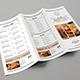 Trifold Brochure Minimalis Menu