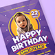 Colorful Kids Birthday Flyer/Invitation - GraphicRiver Item for Sale