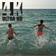 Kids Jumping Into The Sea - VideoHive Item for Sale