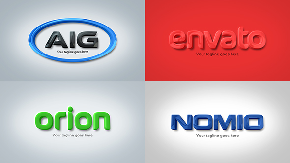 Strong clean corporate 3d embossed logo by royalfx videohive play preview video reheart Choice Image