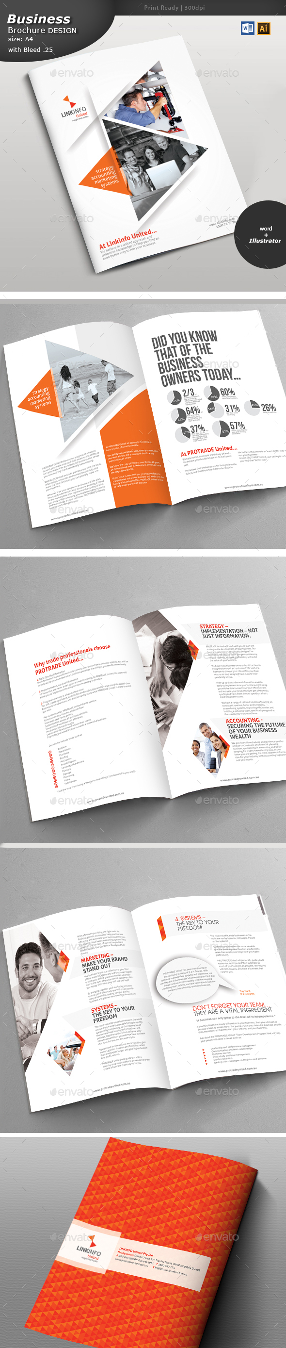 Multipurpose Brochure Design  - Brochures Print Templates