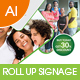Multipurpose Business Roll-Up Banner Vol-22 - GraphicRiver Item for Sale