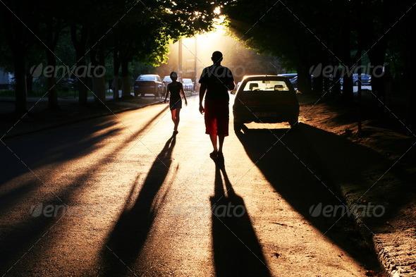 Street scene - Stock Photo - Images