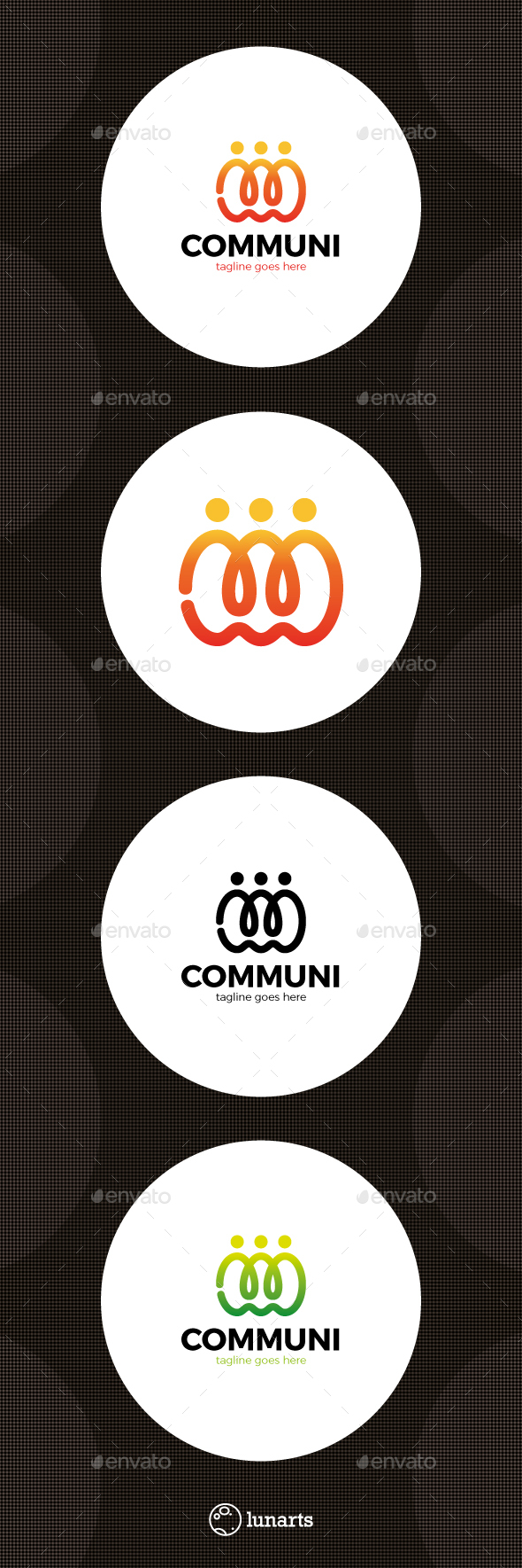 Community Social Care Logo - Humans Logo Templates