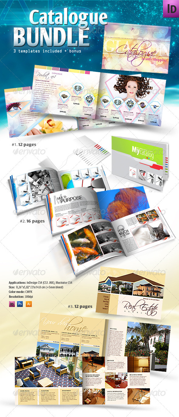 Product Catalogue Bundle - Catalogs Brochures