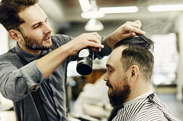 Hairstyling - Stock Photo - Images