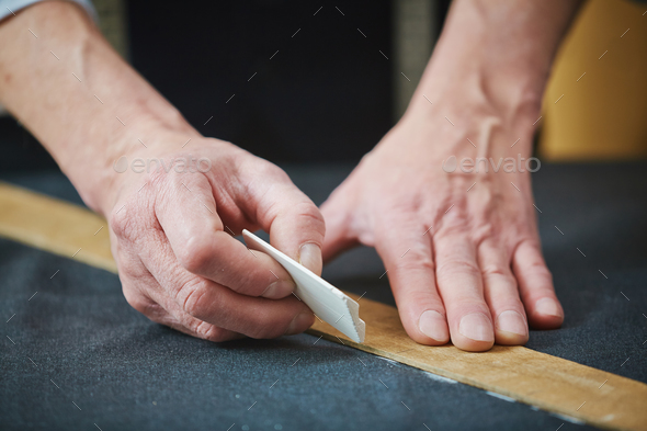 Drawing dotted line - Stock Photo - Images