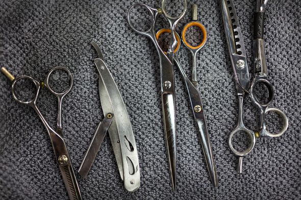 Barber tools - Stock Photo - Images