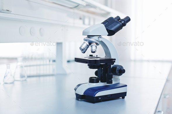 At laboratory - Stock Photo - Images