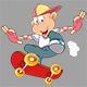 Skateboarding - GraphicRiver Item for Sale