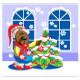 Bear ready xmas color 15 - GraphicRiver Item for Sale