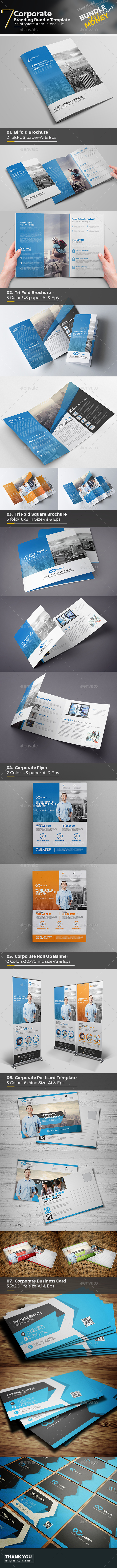 Corporate Mega Branding Bundle - Corporate Brochures