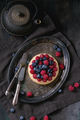 Tart with fresh berries