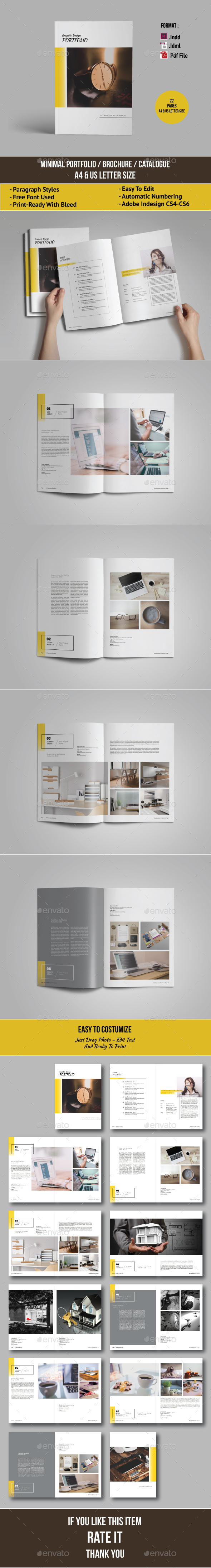 Multipurpose Portfolio / Brochure / Catalogue - Portfolio Brochures