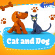 Cats and Dogs made of Plasticine - VideoHive Item for Sale