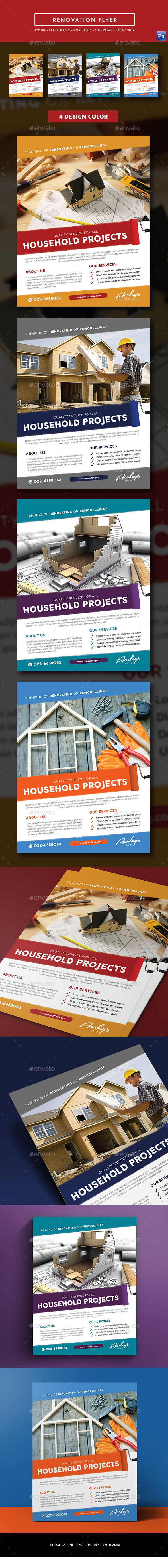 Renovation Flyer - Corporate Flyers