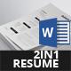 Resume Bundle - 2in1