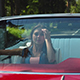 Two Young Happy Girls Driving a Cabriolet - VideoHive Item for Sale