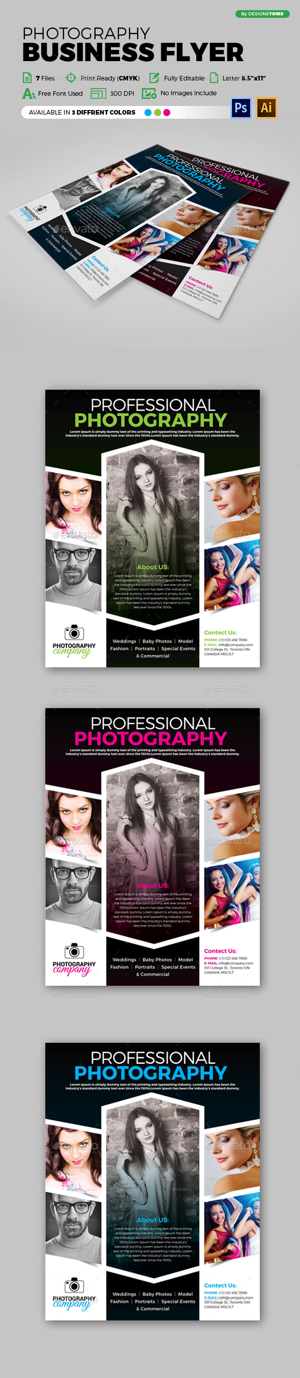 Flyer – Multipurpose 145 - Flyers Print Templates