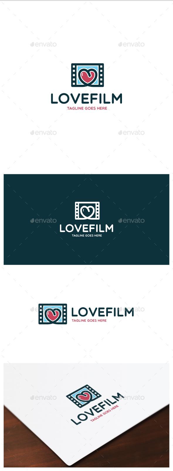 Love Film Logo - Objects Logo Templates