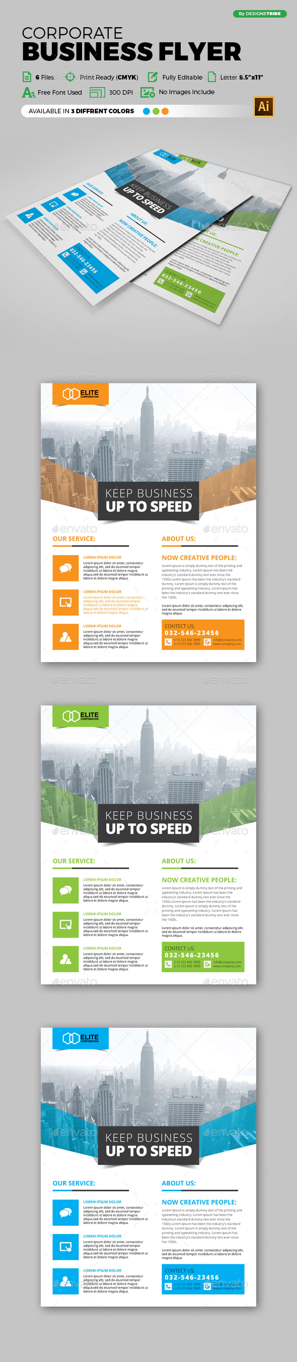 Flyer – Multipurpose 149 - Flyers Print Templates