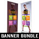 4 in 1 Beauty Fashion Banner Template Bundle