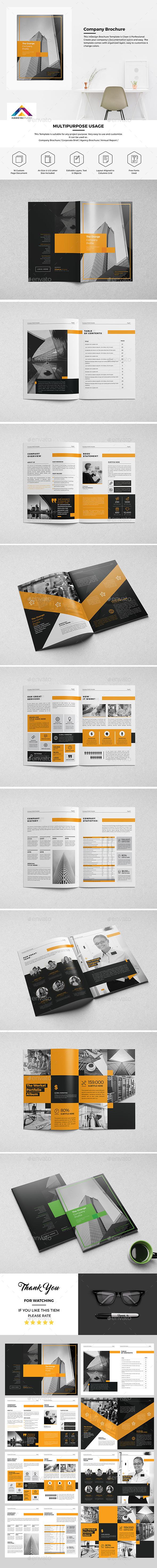 Haweya Company Brochure 16 Page - Corporate Brochures