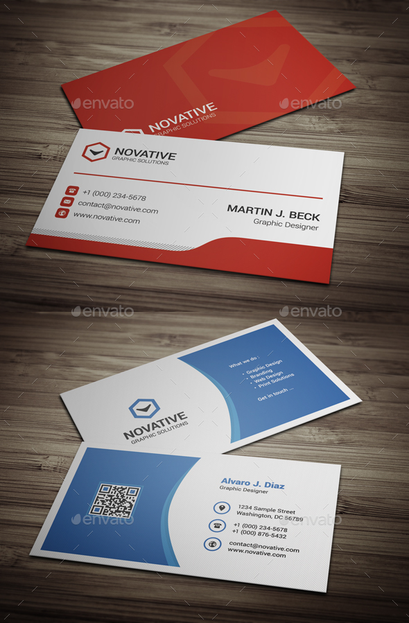 Business Cards Bundle #13 - Business Cards Print Templates