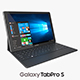 Samsung Galaxy TabPro S with Keyboard Black - 3DOcean Item for Sale