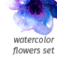 Watercolor Flowers Set - GraphicRiver Item for Sale