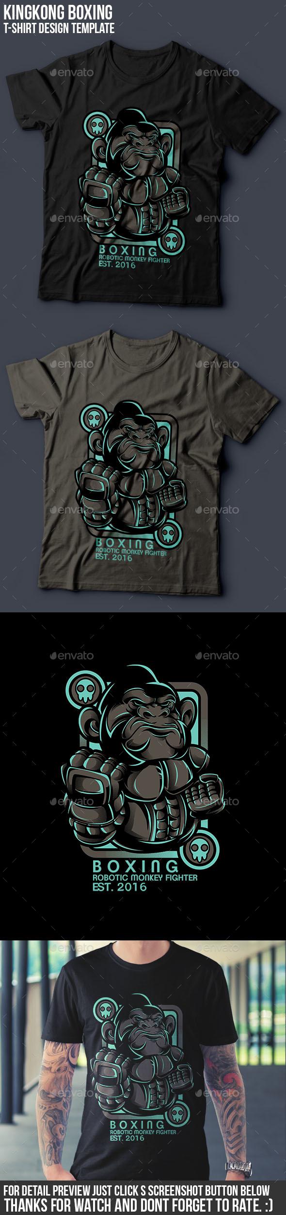 Kingkong Boxing - Sports & Teams T-Shirts