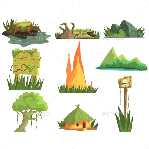 Jungle Landscape Elements - Landscapes Nature