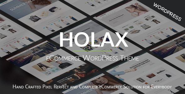 Holax – Multipurpose eCommerce WordPress Theme